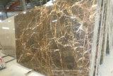 마루 또는 벽 도와 싱크대 또는 허영 상단을%s 튤립 브라운 대리석 석판