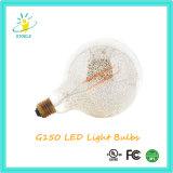 Dimensión de una variable del globo de las bombillas del cromo LED de Stoele G150 4W E40