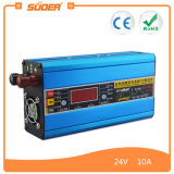 El nuevo cargador de batería de Suoer 24V ayuna el cargador de batería del cargador de batería 10A (DC-2410A)