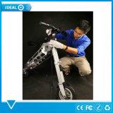 رجل طيّ مدنيّ كهربائيّة [سكوتر] مسافر يوميّ [سكوتر], منافس من الوزن الخفيف درّاجة كهربائيّة مع [لد] ضوء