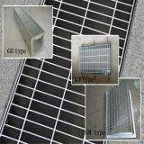 堀のための溶融めっきの電流を通された鋼鉄格子