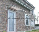 Plastikarm-Polycarbonat-Vorstand-Eintrag-Haustür-Kabinendach-Fenster-und Tür-Schutz Euro-Konzipieren
