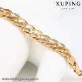 Colar chapeada ouro da serpente da jóia da forma