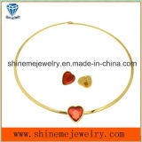 Shineme Jewelry Fashion Haute qualité en acier inoxydable Collier Match Ear Stud (ERS6888)