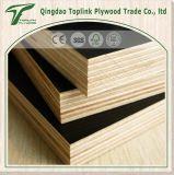 el encofrado/uno de la construcción de 18m m mide el tiempo de la madera contrachapada hecha frente película caliente de la prensa