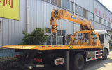 Dongfeng 6 roule 8 tonnes de camion de dépanneuse avec le prix de grue de XCMG