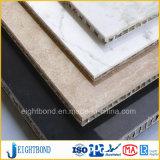 Leichtes Steinmarmoraluminiumbienenwabe-Panel