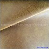 Тип времен кожи ботинок PU Yangbuck материальный старый