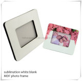 """SGS Certificaat 6mm 8*10 """" Frame van de Desktop van de Sublimatie het Houten Lege"""