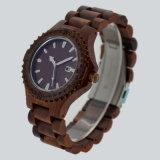 Het unisex- Houten Horloge van de Gesp van de Katapult