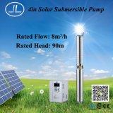 système de pompe solaire de 4.0kw 4inch, pompe submersible, pompe d'irrigation