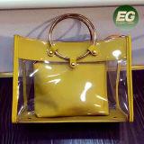 Sacs à main spéciaux de femmes de modèle de mode neuve tendant le sac de tep d'unité centrale de dames avec la boucle ronde Sy8541 en métal