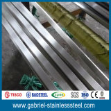 fabricante de la barra plana de acero inoxidable de la dimensión de una variable del rectángulo 304L