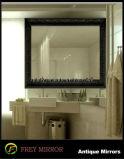 التصميم الأوروبي خشبية ديكور الحمام مرآة الإطار