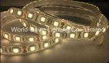 세륨 RoHS 유연한 테이프 빛 2 년 보장 IP68 반달 SMD 5050 LED