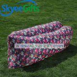 Im Freiensportportable-kampierendes aufblasbares Hängematten-Luft-Bett-faules Sofa