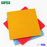 BPA Free Cell Pattern Square Shaped Food Grade Silicone Mat Placemat Potholder