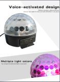 Mágica de cristal mágica do diodo emissor de luz do controle da luz/som da esfera do diodo emissor de luz para o disco /KTV/Homeusing do partido da noite