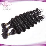 Cabelo humano do Virgin do cabelo indiano de Dyeable Remy do templo