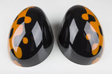 Cubierta viva espejo de reemplazo lateral Naranja Estilo para Mini Cooper
