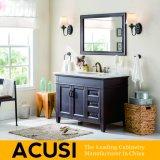 Vanità moderna americana della stanza da bagno di legno solido della quercia di stile (ACS1-W34)