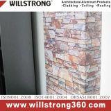 El panel compuesto de aluminio de la textura de piedra