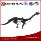 Офис украшения искусствоа металла скульптуры динозавра вырезывания Laer главного качества/домашнее/подарок сразу от фабрики