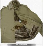 O revestimento militar do inverno adota a tela do nylon e de algodão