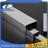 Grado rectangular 201 del tubo tubo en frío 304 904L del acero inoxidable