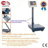 디지털 수화물 플래트홈 지면 유형 무게를 다는 가늠자 500kg