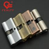 tipo zinco elevado de Quanlity/cilindro de bronze do euro de 54-110mm da porta