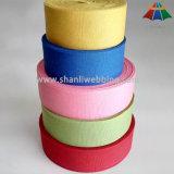 Kleid-und Beutel-Zubehör-Grün-reines Baumwollgewebtes material