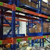 Хранение гальванизированное пакгаузом складывая стальное штабелируя шкаф