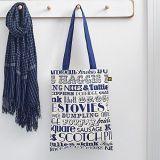 Персонализированные мешки Tote покупкы холстины сумок женщин/девушок симпатичным напечатанные сычом