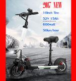 [500وتّ] [سكوتر] كهربائيّة كهربائيّة اثنان إطار العجلة حركيّة [إ-سكوتر]