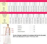Robe de mariage nuptiale musulmane de lacet de chemises de robe de mariage longue W15225
