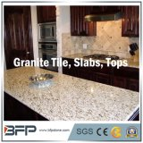 Polished белое/чернота/желтый цвет/серые плитки мозаики камня гранита для пола/настила/стены/ванной комнаты/кухни