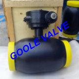 valvola a sfera completamente saldata riduttrice manovrata mediante ingranaggi del foro 150lb/300lb/600lb/900lb (GARQ361PPL)