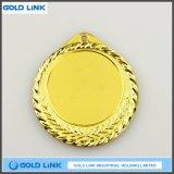 جيّدة يبيع [3د] [إنغرفينغ] وسام فراغ نوع ذهب [سلفر مدل] عالة علامة تجاريّة عملة