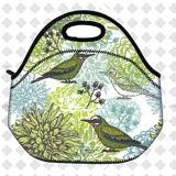 O almoço isolado térmico do piquenique do pássaro ensaca o saco do recipiente da caixa de almoço da escola dos miúdos