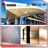 Comitato 2017 di soffitto di alluminio bianco del PE della decorazione dell'ufficio di Ideabond (AE-31D)