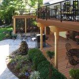 Супер экстерьер уплотнения Co-Прессовал настил PVC для балкона