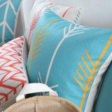 Preiswertes Baumwollleinen 18 Zoll-im Freienstuhl-Kissen für Sofa