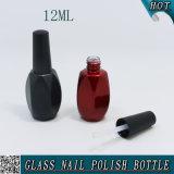 Leerer eindeutiger geformter Farbanstrich-Glasnagel-Gel-Polnisch-Flasche der Farben-12ml