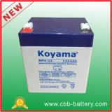 батарея Reguated 12V4ah клапана свинцовокислотной батареи Selead аккумулятора 12V4ah