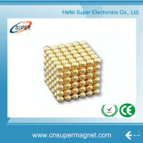 Sfera magnetica della sfera del cubo del magnete del neodimio 3mm 5mm