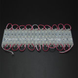 3SMD5050 el módulo de epoxy rosado 75*12 del color LED impermeabiliza el módulo del LED