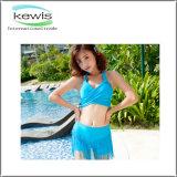 Form-reizvoller Steigung-Bikini-Badeanzug für Damen