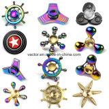 Popular Cocloful Fidget Spinners con aleación de zinc de alta calidad