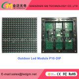 Visualizzazione di LED fissa esterna calda di vendite P10 DIP/SMD per fare pubblicità